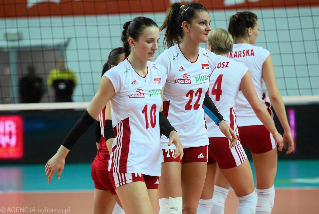 Liga Europejska siatkarek. Polska - Niemcy 0:3