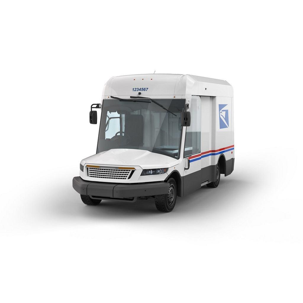 Nowy samochód amerykańskiej poczty USPS