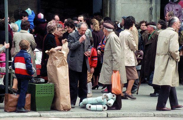 Jelenia Góra w 1987 roku.