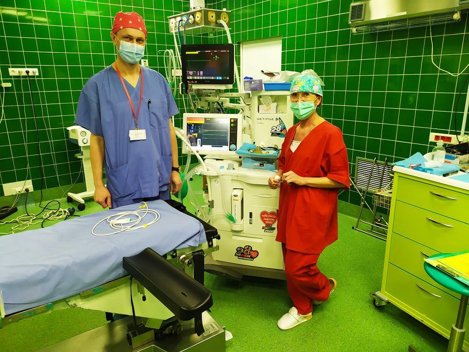 Do szpitala w Zielonej Górze dotarł sprzęt zakupiony przez WOŚP ze zbiórki przeprowadzonej w 2020 r.