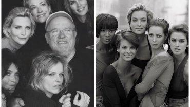Supermodelki i Peter Lindbergh - w 1990 r. i dziś