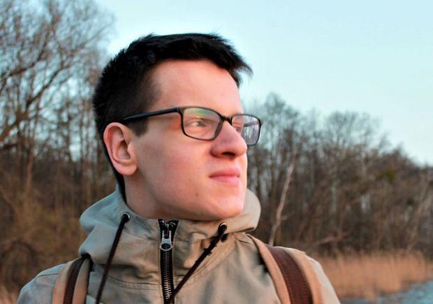 Łukasz Sakowski, autor bloga 'To tylko teoria' (fot. Marta Puczyńska / Archiwum prywatne)
