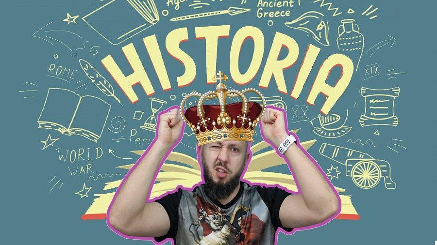 Marcin Włoch, nauczyciel z Sosnowca opowiada o historii za pośrednictwem YouTuba