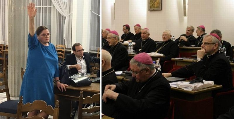 Krystyna Pawłowicz głosuje za odrzuceniem projektu Ordo Iuris/Episkopat