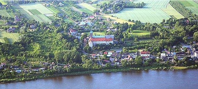 Panorama Czerwińska nad Wisłą