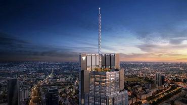 Wieżowiec Varso - wizualizacje