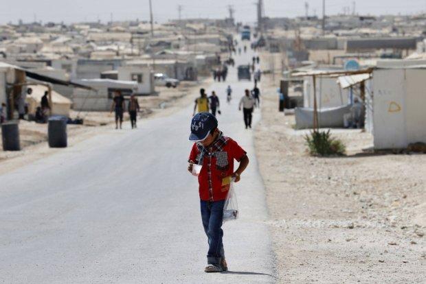 Obóz syryjskich uchodźców Zaatari