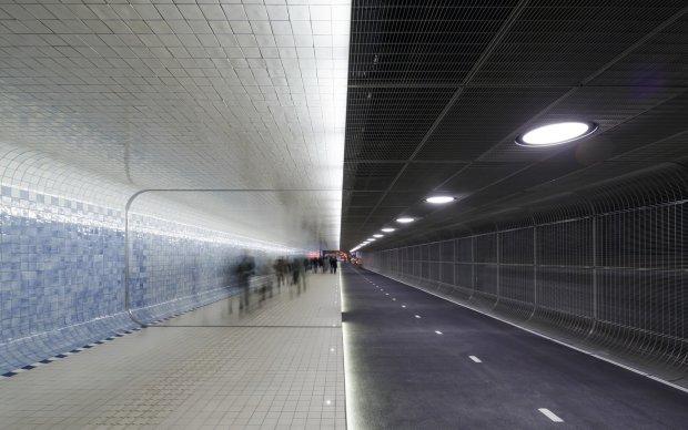 Nowy tunel w Amsterdamie