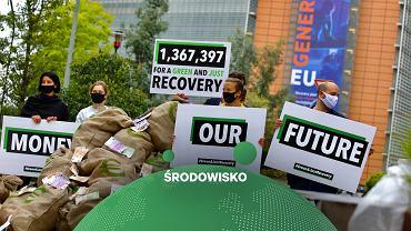 Bruksela. Przed unijnym szczytem organizacje społeczne apelują, by środki na odbudowę po kryzysie epidemicznym były powiązane z zieloną transformacją