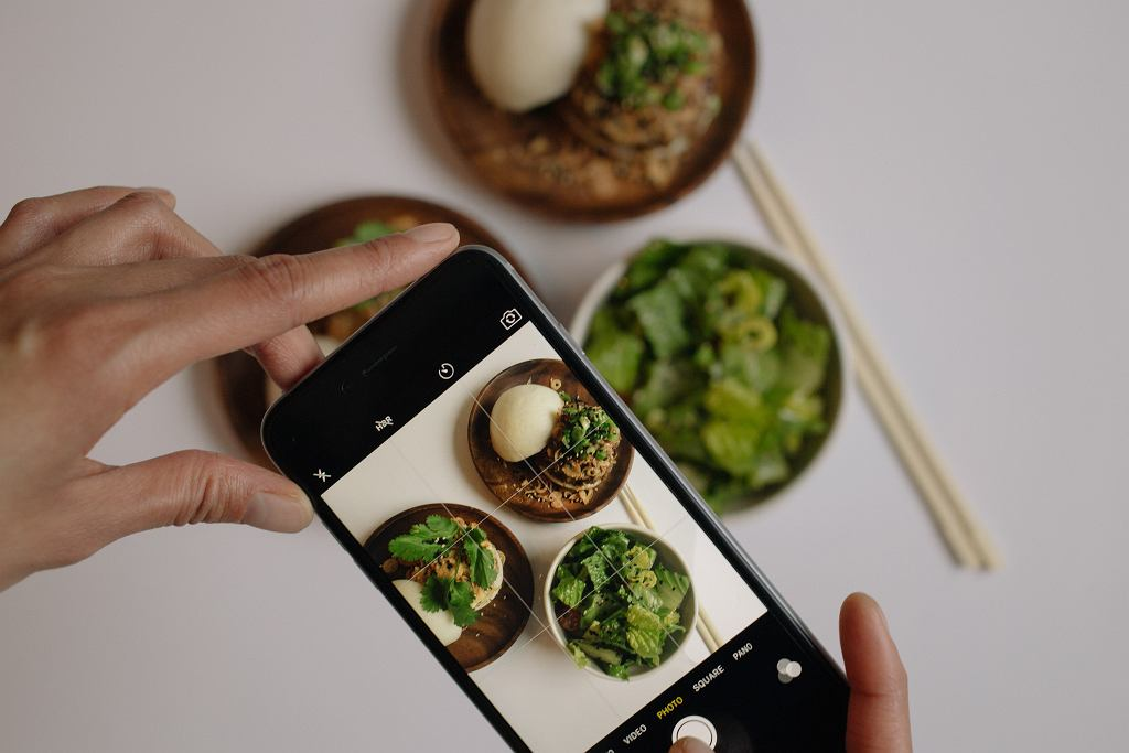 wpływ social media na dietę
