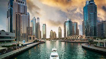 Marina w Dubaju
