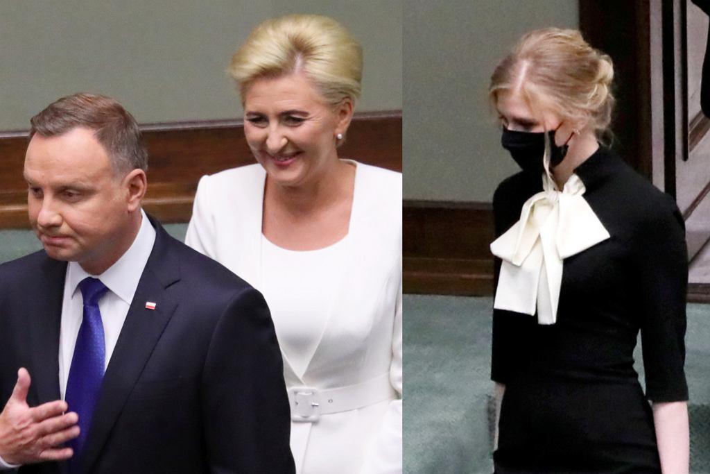 Andrzej Duda, Kinga Duda, Agata Duda