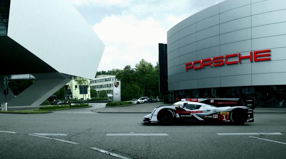 Audi wita Porsche w Le Mans
