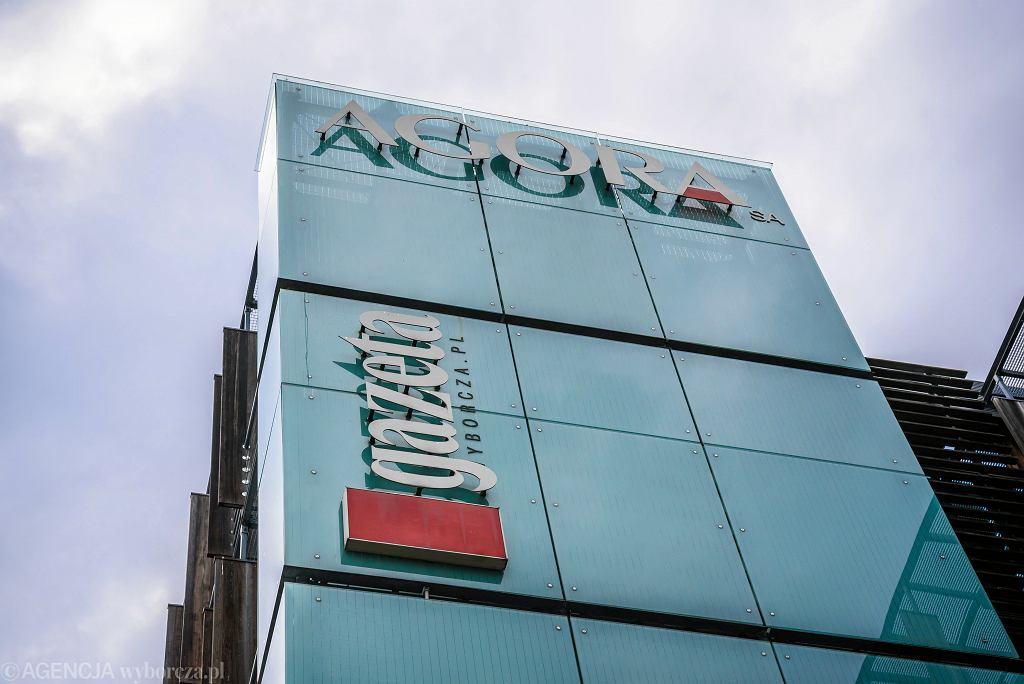 Budynek spółki Agora w Warszawie.