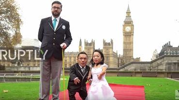 Najniższe małżeństwo na świecie