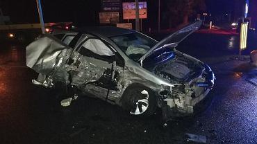Wypadek w Kleszewie