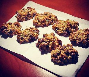 Lekkie ciasteczka bakaliowe