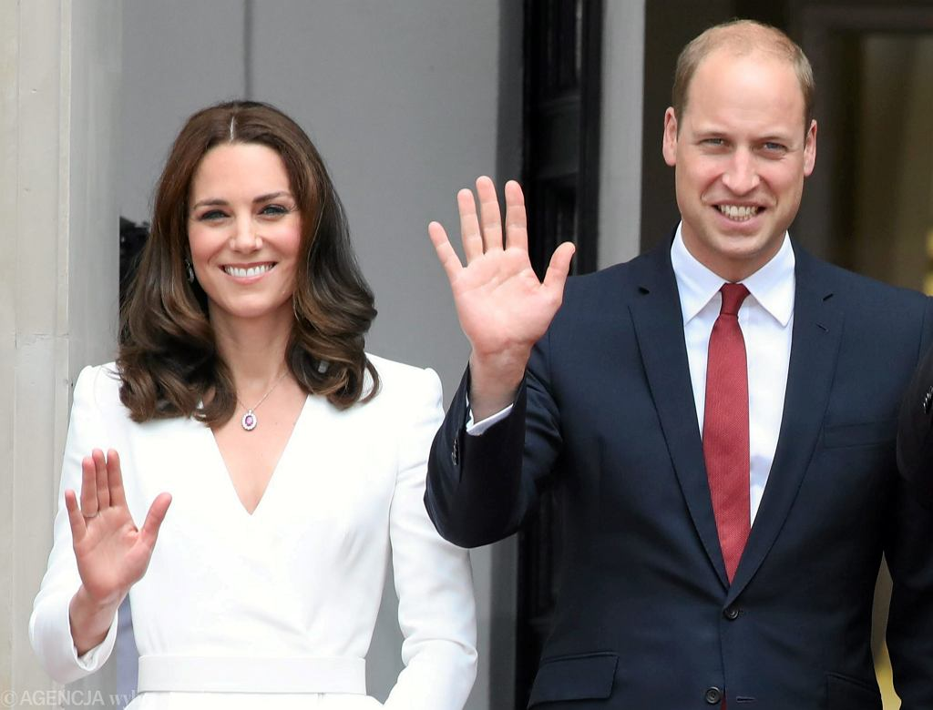Księżna Kate i książę William z wizytą w Polsce