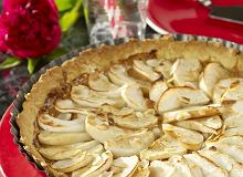 Tarta z jabłkami i kajmakiem - ugotuj