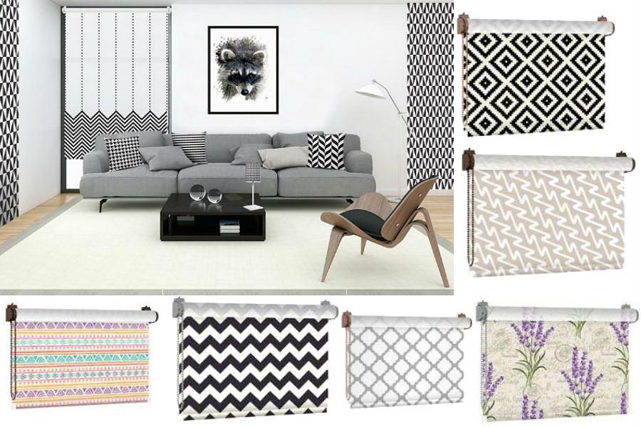 Nowoczesne rolety mogą być designerską dekoracją każdego wnętrza