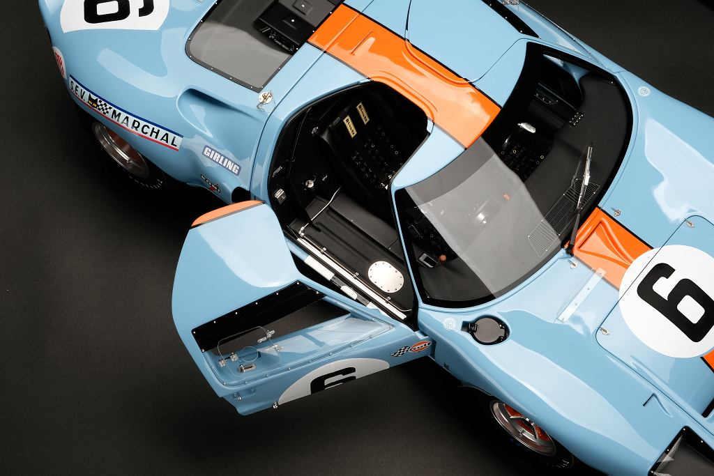 Ford GT40 w skali 1:8