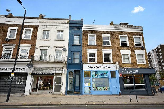 Najwęższy dom w Londynie ma nieco ponad 1,6 metra szerokości. A jego cena? Wysoka