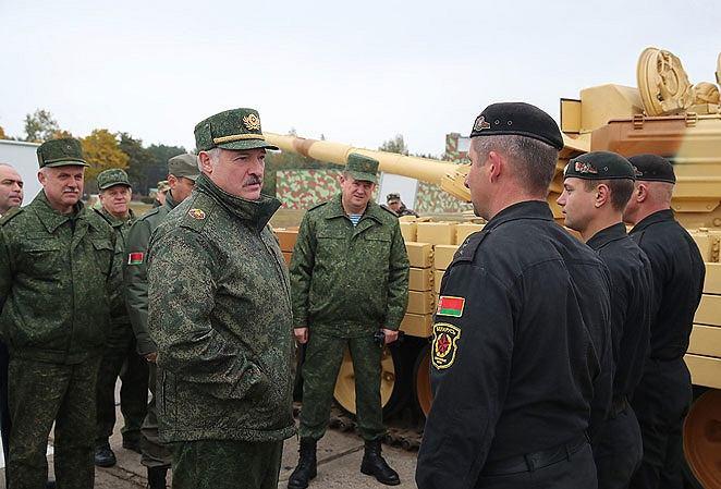Prezydent Białorusi Aleskandr Łuaszenka