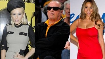 Doda, Jack Nicholson, Mariah Carey.