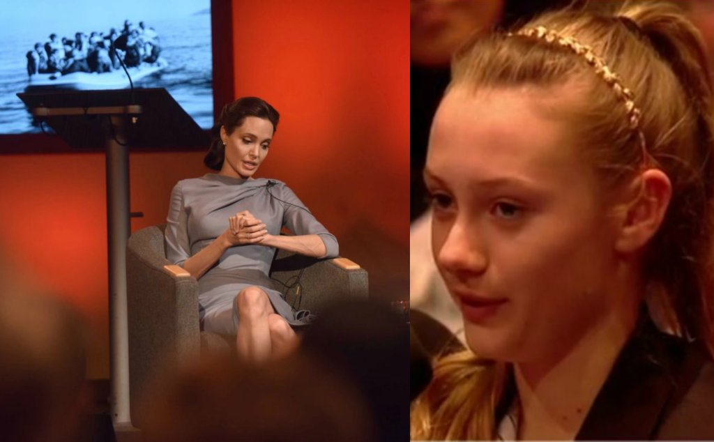 Angelina Jolie i 12-letnia Paulina
