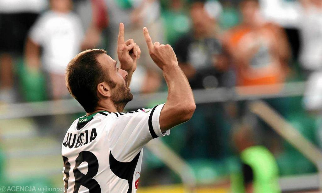 Danijel Ljuboja strzelił w meczu z Koroną trzy bramki