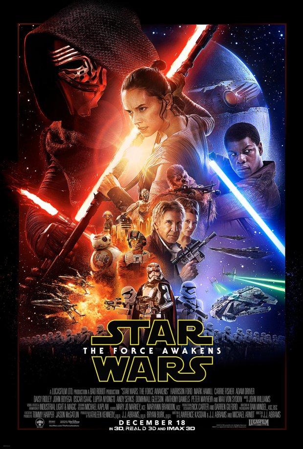 Star Wars: The Force Awakens - oficjalny plakat