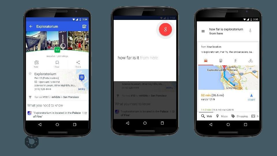Google Now zrozumie kontekst wypowiedzi