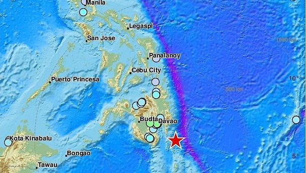 Trzęsienie ziemi u wybrzeży Filipin