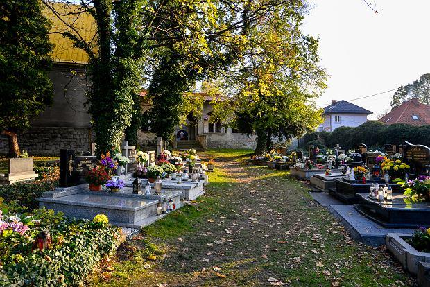 Zdjęcie numer 20 w galerii - 1 listopada w Bielsku-Białej. Kwiaty, wieńce i znicze na grobach [ZDJĘCIA]