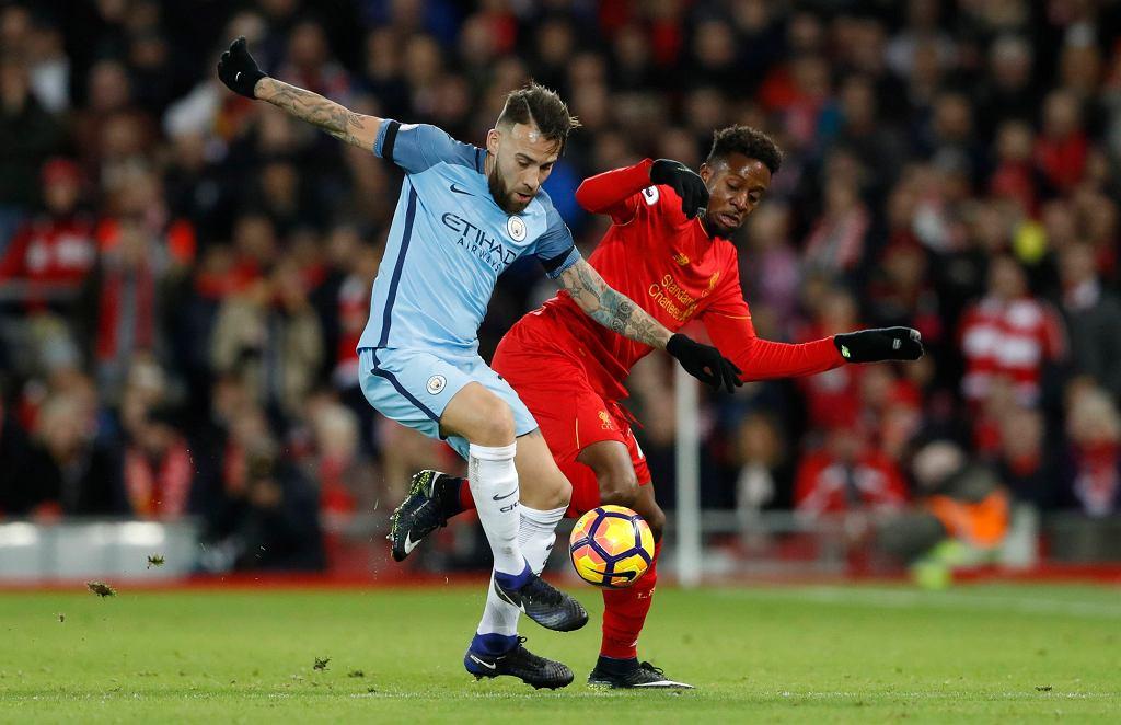 Mecz Liverpool - Manchester City (1:0) w 19. kolejce ligi angielskiej