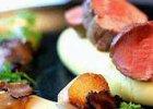 Polędwica  cielęca ,topinambur,puree  ziemniaczane,czarna trufla z restauracji Lokal 14 - Zdjęcia
