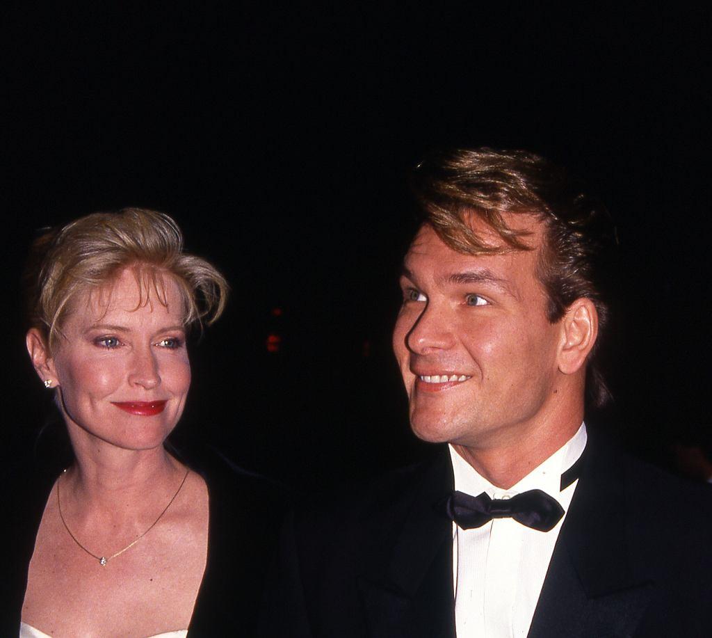 Patrick Swayze i Lisa Niemi, 1990 r.