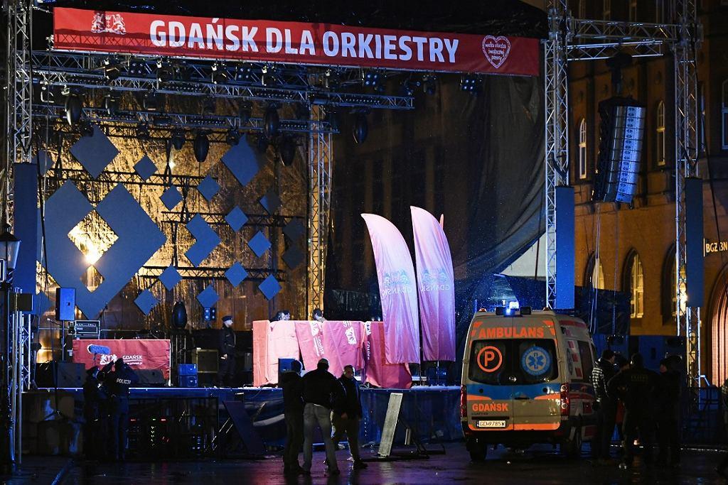Prezydent Gdańska Paweł Adamowicz został ugodzony nożem