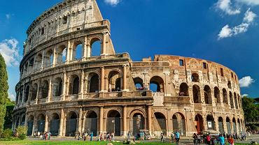 Koloseum w Rzymie, jeden z najsłynniejszych zabytków antycznego świata