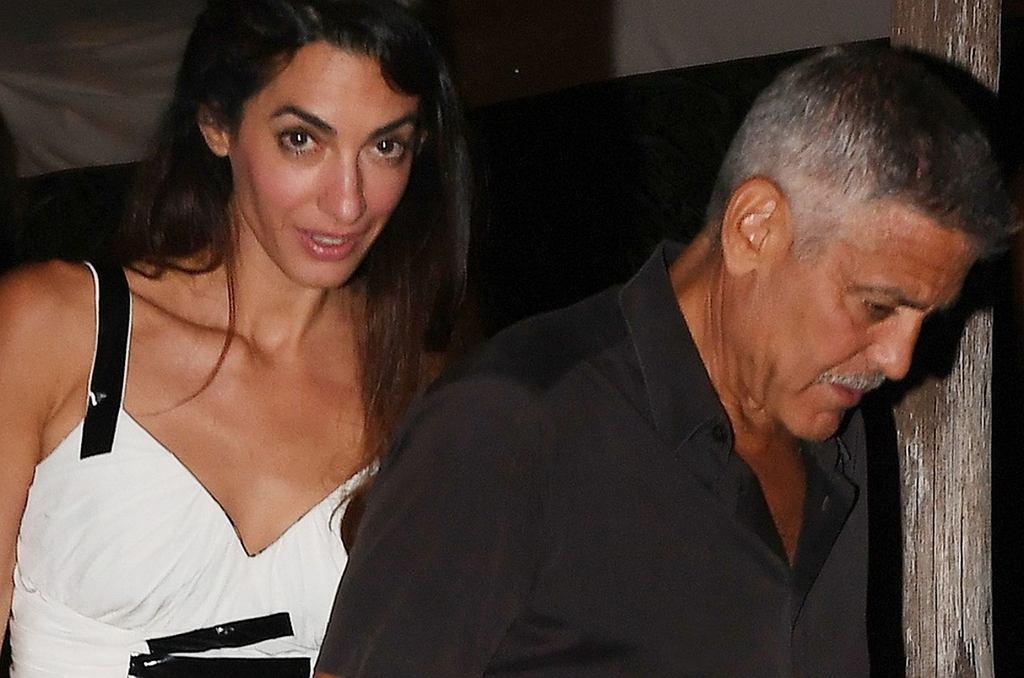 George i Amal Clooney na wakacjach