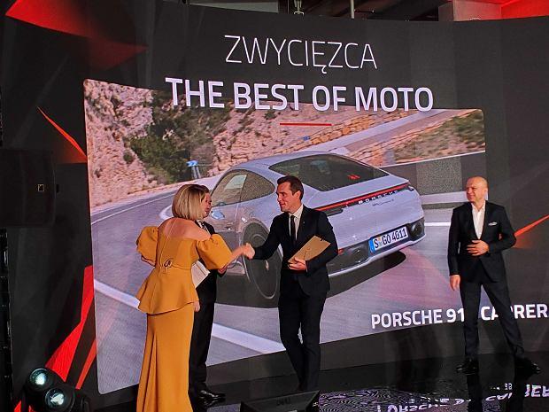 Główna nagroda w plebiscycie The Best of Moto 2019 wędruje do Porsche