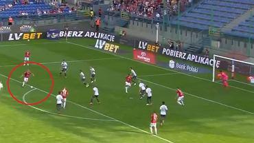 Piękny gol Michała Frydrycha w meczu Wisła Kraków - Lechia Gdańsk