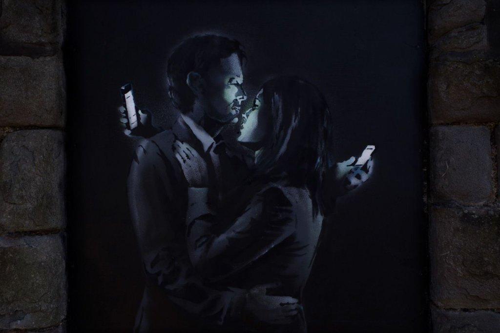 Nowy mural Banksy'ego