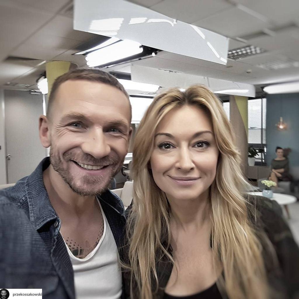 Przemek Kossakowski i Martyna Wojciechowska