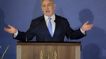 Premier Izraela Benjamin Netanjahu.