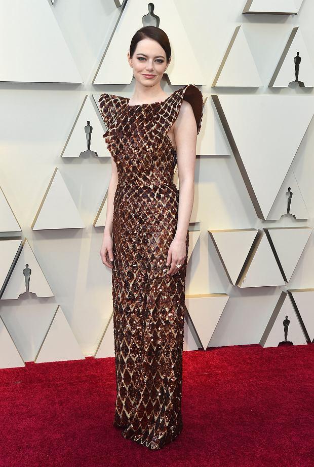 Emma Stone w sukni Louis Vuitton