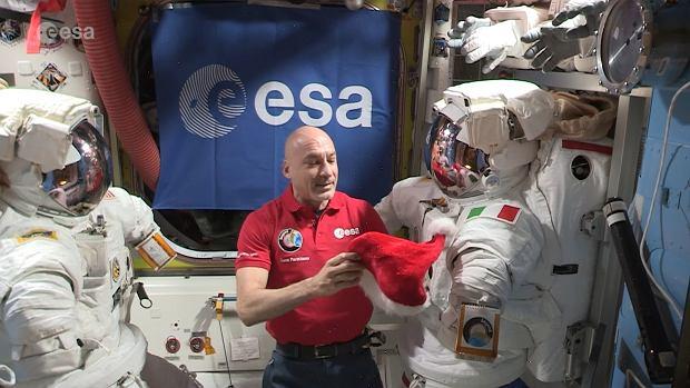 Luca Parmitano z ESA opowiada o Świętach na ISS - 20 grudnia 2019