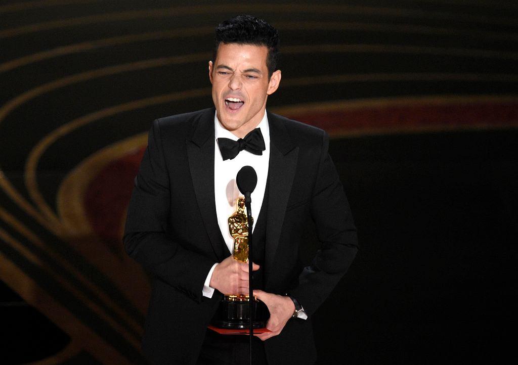 Rami Malek z Oscarem