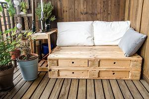 Meble ogrodowe z palet - jak je zrobić? Instrukcja krok po kroku