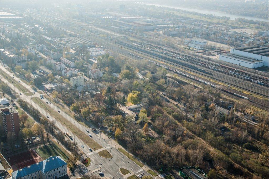 Pogranicze Targówka i Pragi Północ. Tu ma stanąć nowe osiedle